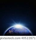 Planet Earth map. 3d rendering 40522671