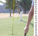 Men who play golf 40524290