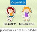 ugly vector illustration 40524560