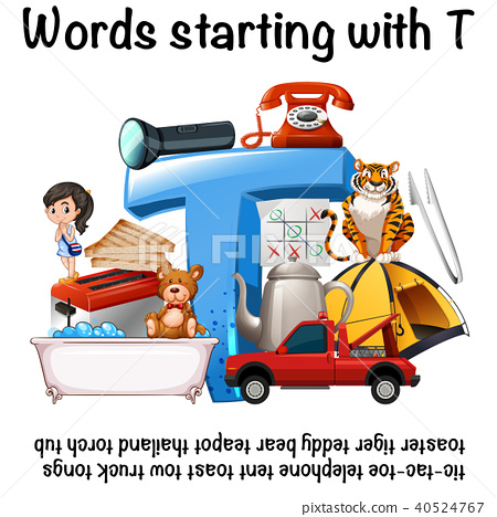 English words starting with T 40524767