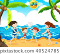 summer, beach, holiday 40524785