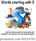 English poster for words starting with s 40524791