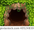 Mystery Mine Cave in Nature 40524839