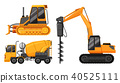 A Set of Construction Truck 40525111