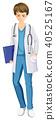 male doctor vector 40525167