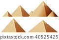 pyramid vector illustration 40525425