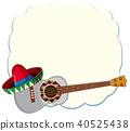 guitar mexican vector 40525438
