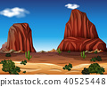 desert rock mountain 40525448