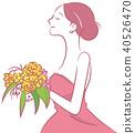 新娘 婚禮 矢量 40526470