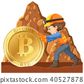 coin, cyber, mining 40527878