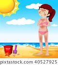 beach girl summer 40527925