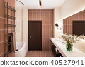 bathroom, interior, 3d 40527941