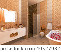 bathroom, interior, 3d 40527982