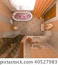 bathroom, interior, 3d 40527983