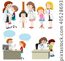 Kids Having a Health Care from Doctor 40528693