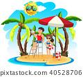 Lifeguard on at the Beautiful Island 40528706