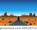 Road Trip Through the Desert 40528714