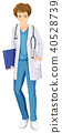 male nurse white 40528739