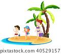 summer, beach, holiday 40529157
