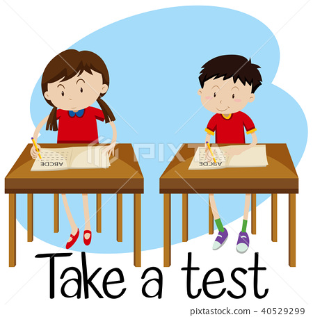 Students are Taking a Test 40529299