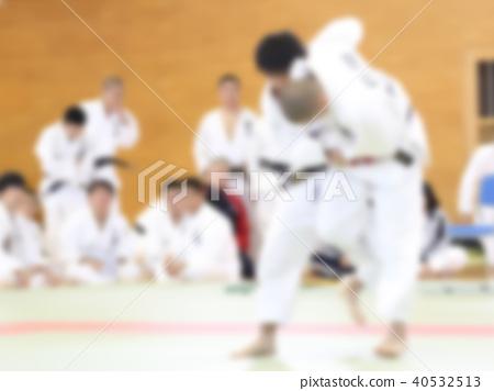 柔道比賽形象bokashi 40532513