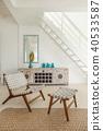 Modern exclusive loft minimalist interior design 40533587