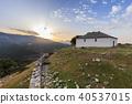 sunrise in Kastro village, Greece 40537015