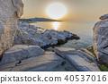 sunrise in Aliki. Thassos island, Greece 40537016