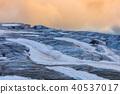 glacier du Tour in sunset. French Alps 40537017