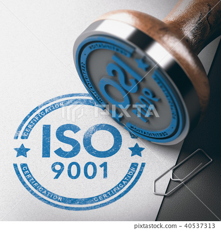 ISO 9001 Certification, Quality Management.  40537313