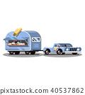 cream ice vector 40537862