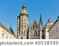 Cathedral of St. Elizabeth in Kosice, Slovakia. 40538300