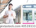 通勤 事業女性 商務女性 40539333