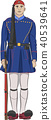 Vector. The soldier evzone. 40539641