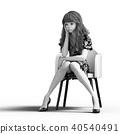 女生 女孩 女性 40540491