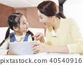 교육, 딸, 엄마 40540916