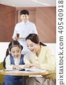 교육, 딸, 아빠 40540918