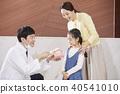 醫院,醫生,母親,女兒 40541010