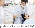 병원,치과,의사,간호사,환자,소녀 40541369