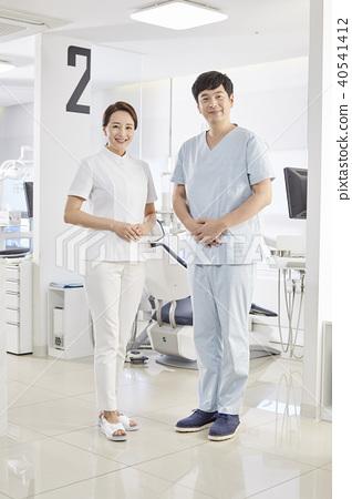 Hospitals, doctors, nurses 40541412