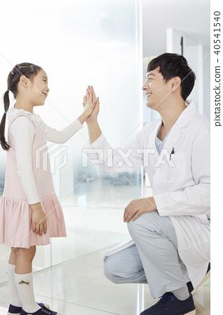 의사,환자,소녀 40541540