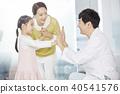 병원,의사,엄마,딸 40541576