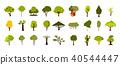 ต้นไม้,ไอคอน,ชุด 40544447