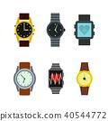 smartwatch, icon, set 40544772
