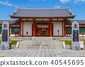 药师寺 顶头寺庙 世界遗产 40545695