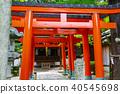 神社和庙宇 神殿 天空 40545698