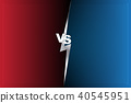 Abstract Background versus screen Red and blue 40545951