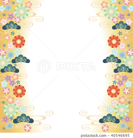 背景材料 - 日本圖案Shoka圖案2(金格萊德) 40546695