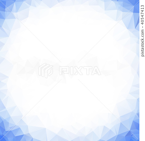 Light BLUE vector abstract polygonal background. A 40547413