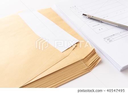 봉투 A4 판 각 2 정형 외 봉투 각형 2 호 크래프트 봉투 40547495